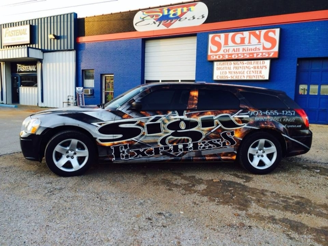 Vehicle Building Wraps Sign Express